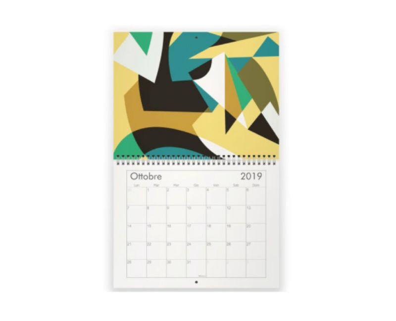 Calendario-illustrato-da-Federica-Moyo-anno-2019