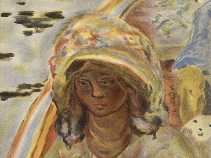 Bonnard-Pierre--Jeune-fille-dans-une-barque