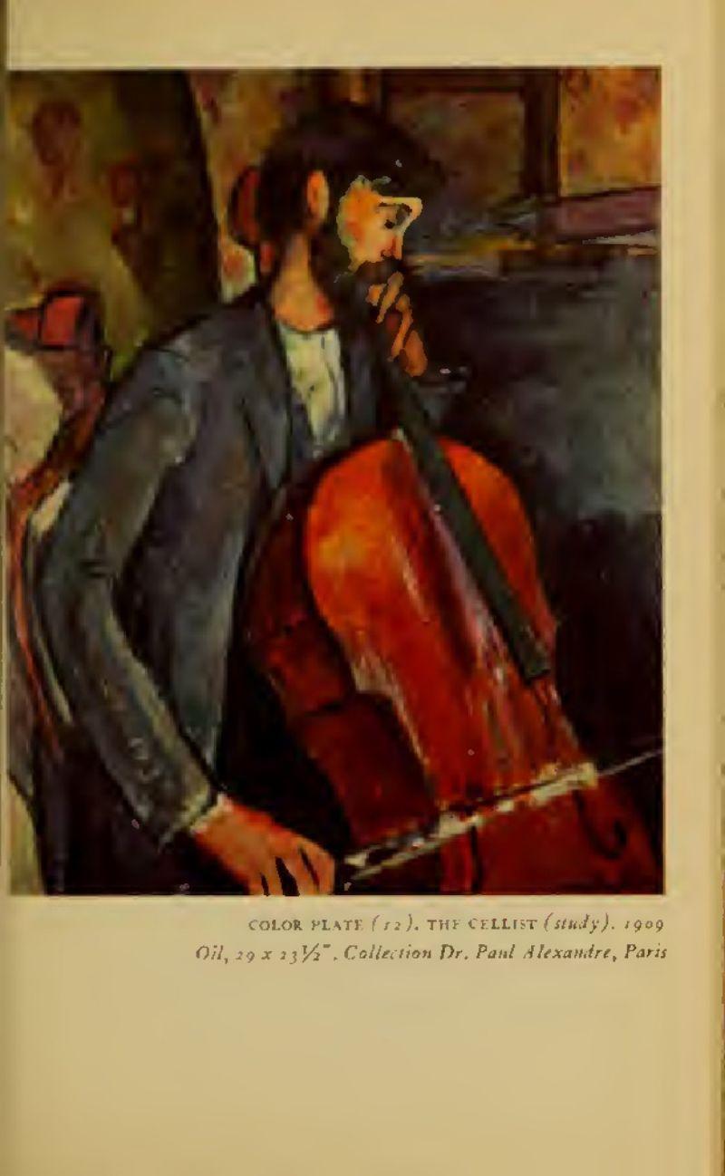 -Modigliani-JACQUES-LIPCHITZ-1954-