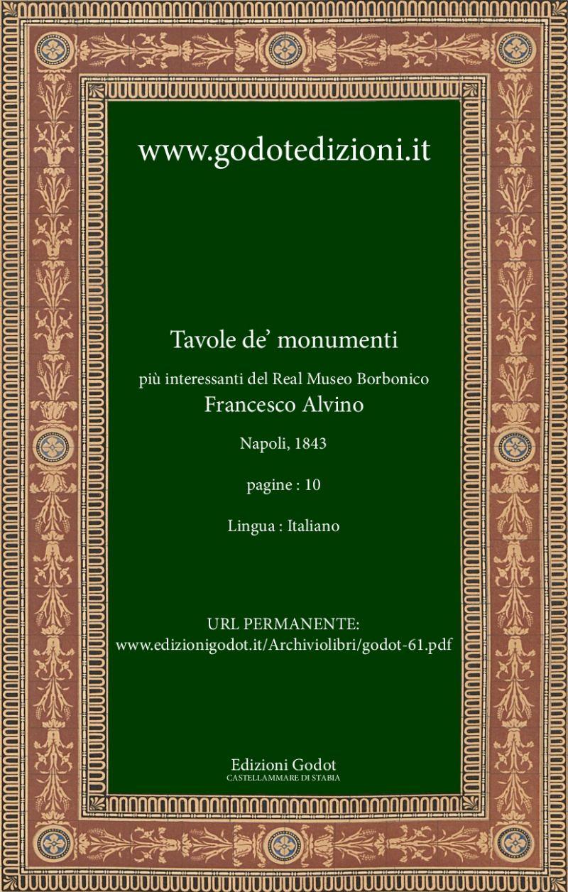Alvino-Francesco-Tavole-de'-monumenti-più-interessanti-del-Real-Museo-Borbonico