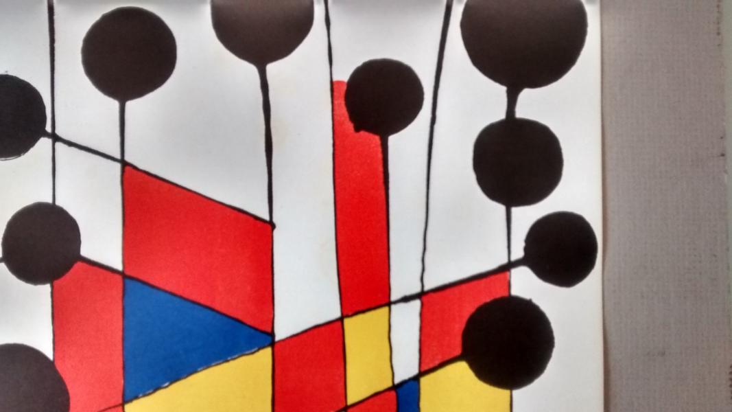 Alexander-Calder---Ballons---original-litograph,-1971