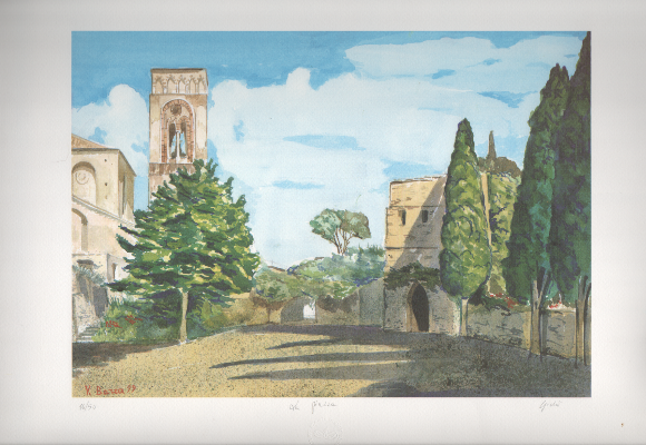 Ravello,-piazza